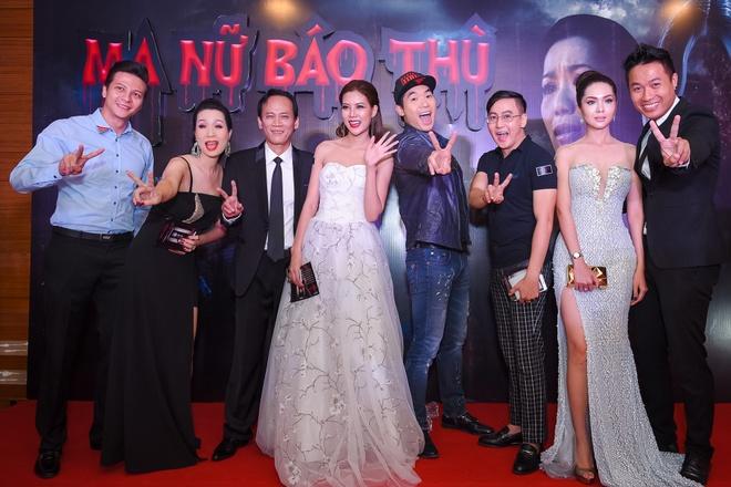 Sao Viet tap nap ra mat phim 'Ma nu bao thu' hinh anh 9