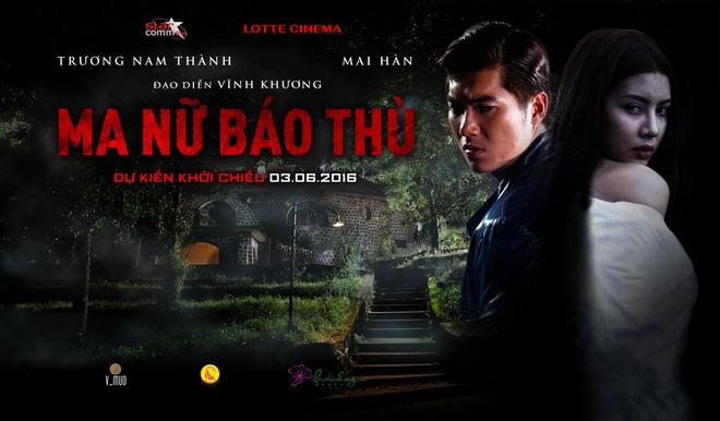 Truong Nam Thanh trong buoi ra mat phim Ma nu bao thu hinh anh