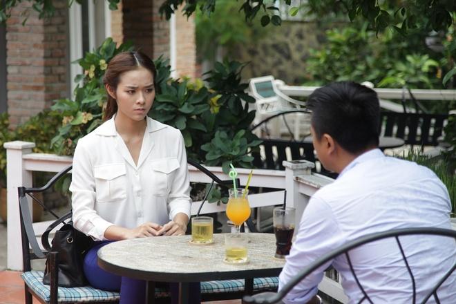 Diep Bao Ngoc buon ban noi tang trong phim moi hinh anh 1