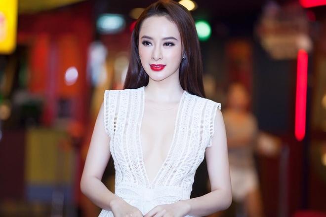 Angela Phuong Trinh mac dam khoet nguc sau di casting phim hinh anh 2