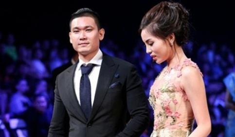 Nghi van Ky Duyen va ban trai dang du lich o Phap hinh anh