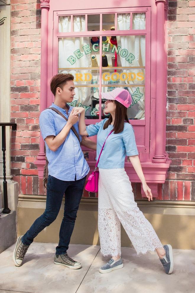 Vo chong Tu Vi - Van Anh ngot ngao o Singapore hinh anh 2