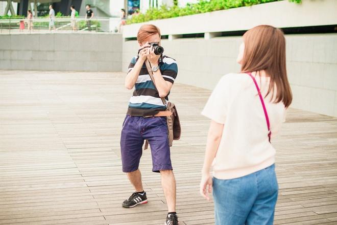 Vo chong Tu Vi - Van Anh ngot ngao o Singapore hinh anh 6