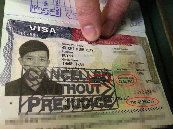 Vi sao Tran Thanh bi tu choi nhap canh vao My? hinh anh 1