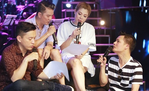 Dan sao nam Vpop quy tu trong live show cua Thanh Thao hinh anh