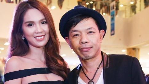 Ngoc Trinh dien dam cut-out du ra mat phim cua Thai Hoa hinh anh