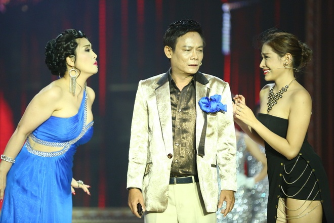 Quy Binh va Minh Luan cung yeu nu ca si tren san khau hinh anh 7