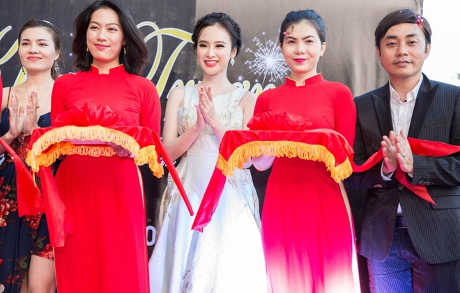 Angela Phuong Trinh rang ro du su kien o Da Nang hinh anh 7
