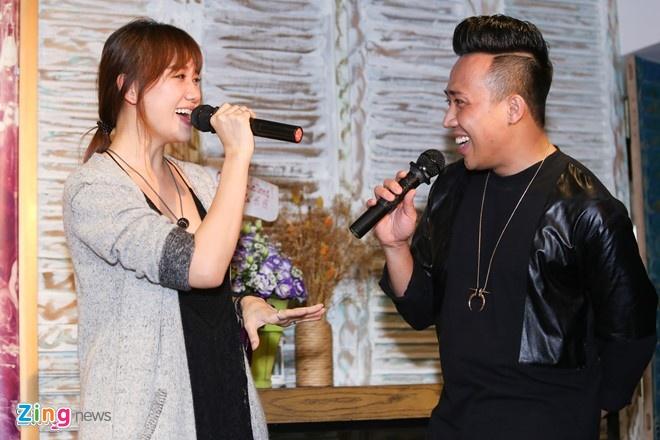 Hari Won tham gia liveshow cua Tran Thanh o Da Nang hinh anh 1