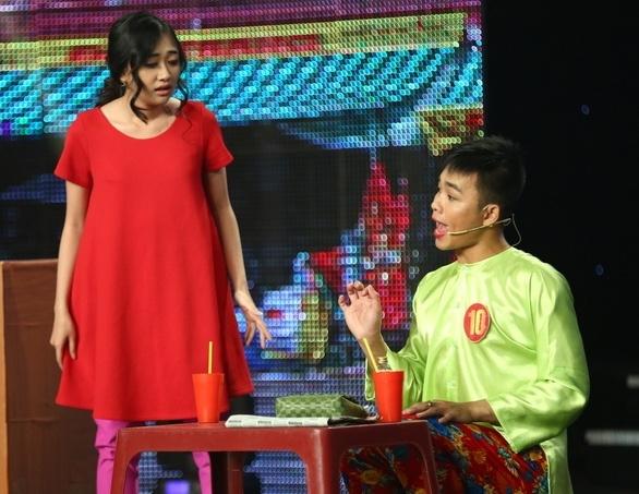 Thi sinh Cuoi xuyen Viet hoa than ban sao cua Hoai Linh hinh anh 6