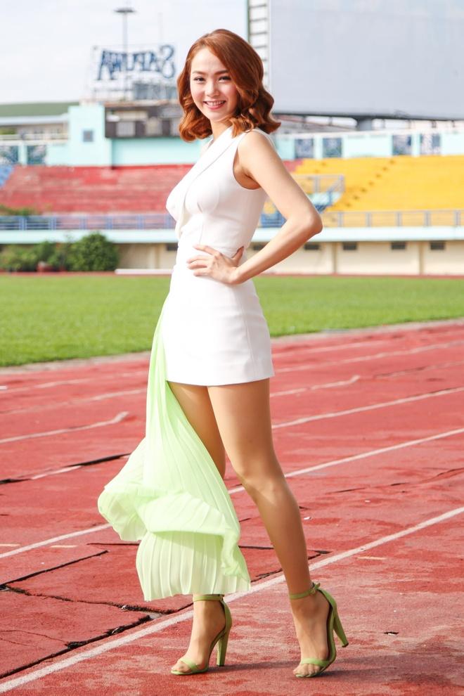 Minh Hang - Jennifer Pham dien ton sur ton o su kien hinh anh 1