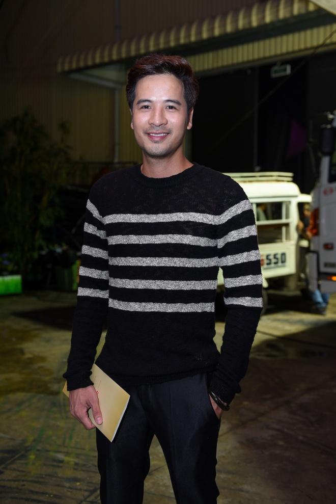Lan Ngoc den ung ho Minh Luan anh 9