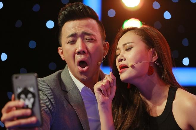 Vang Hari Won, Tran Thanh than thiet voi Ha Thuy Anh hinh anh 5