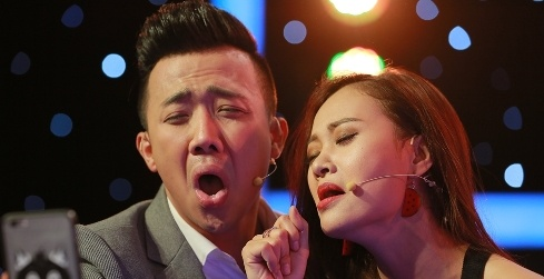 Vang Hari Won, Tran Thanh than thiet voi Ha Thuy Anh hinh anh