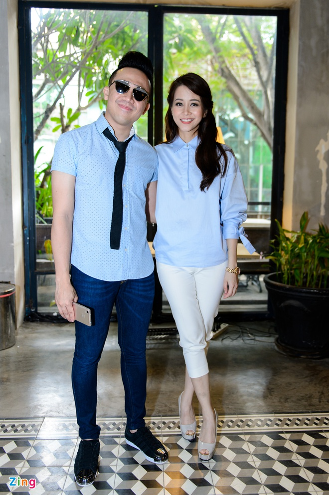 Tran Thanh - An Nguy cung mac tong xanh du ra mat phim hinh anh 2