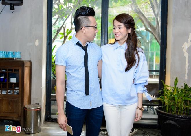 Tran Thanh - An Nguy cung mac tong xanh du ra mat phim hinh anh 1