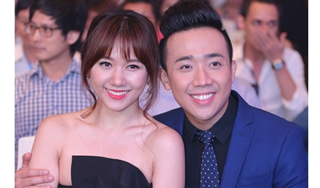 Tran Thanh len tieng ve tin Hari Won dang mang bau hinh anh