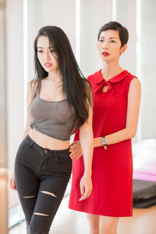 Xuan Lan mang em gai hoa hau Diem Huong vi di tap tre hinh anh 4