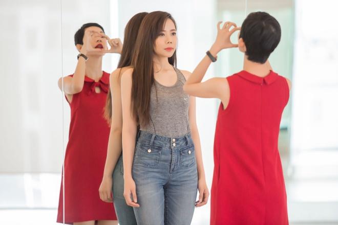 Xuan Lan mang em gai hoa hau Diem Huong vi di tap tre hinh anh 3