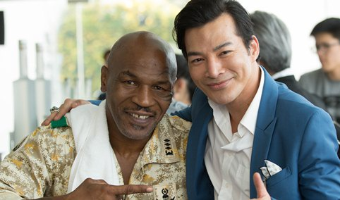 Mike Tyson than thiet voi Tran Bao Son tren phim truong hinh anh