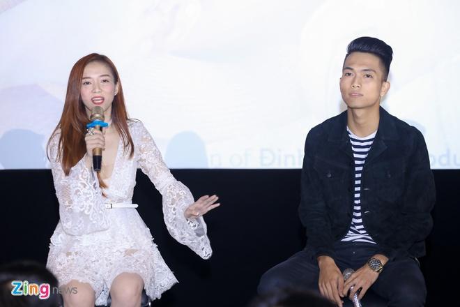 Dinh Huong xinh xan ra mat MV hinh anh 9
