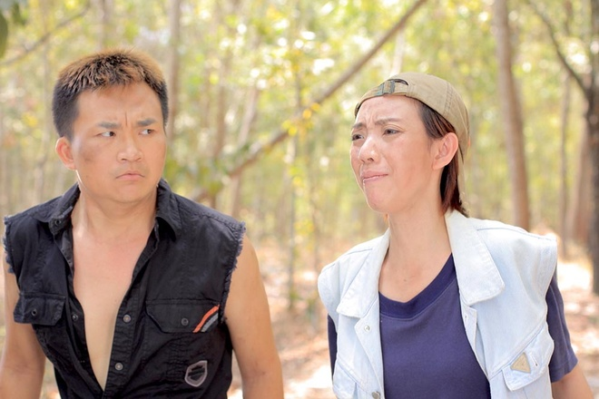 Dai Nghia quy goi cau hon Thu Trang trong phim hinh anh 4