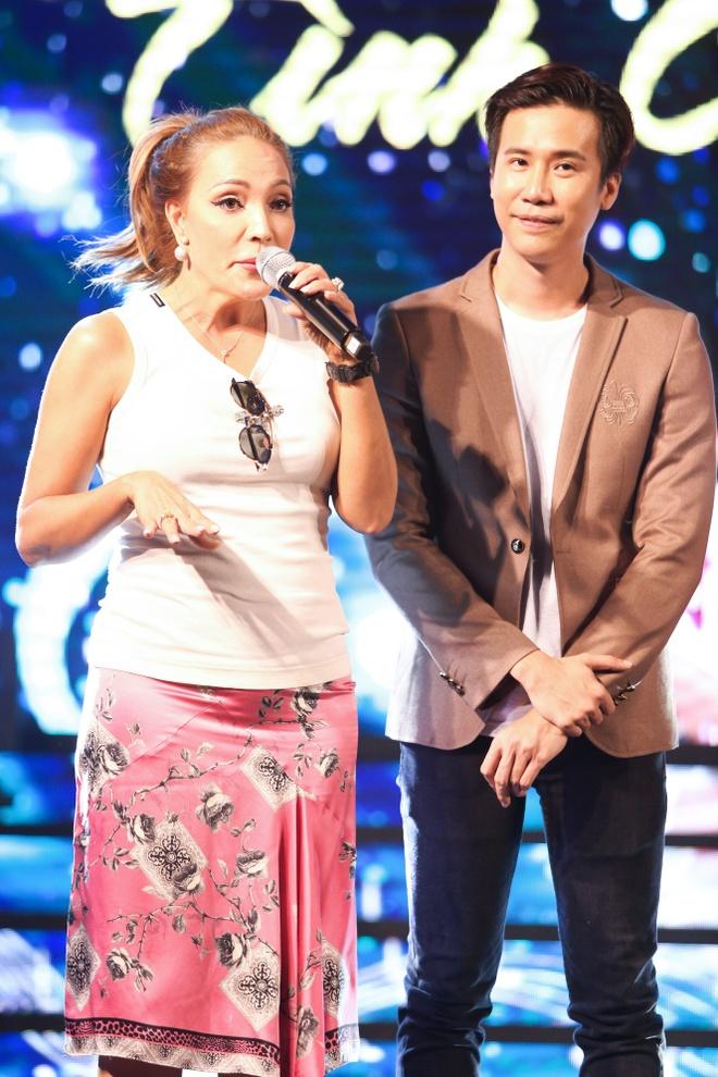 Thanh Ha gian di den ung ho dan em lam show Bolero hinh anh 6