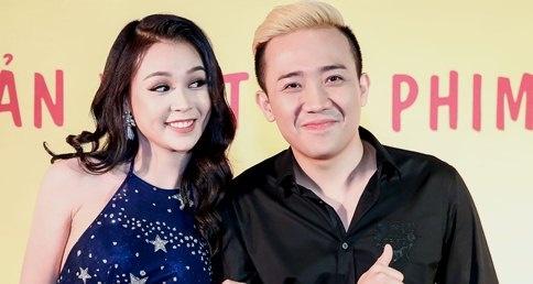 Tran Thanh khoac tay hot girl Sam du ra mat phim 'Nang' hinh anh