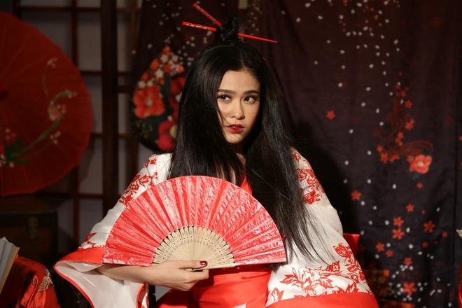 Truong Quynh Anh hoa than thanh geisha trong MV moi hinh anh 1