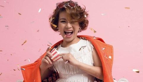 Hai Yen Idol duoc chong dau tu lam mini show hinh anh