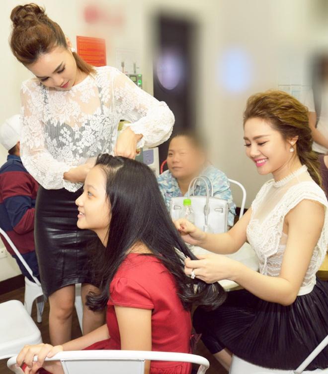 Ninh Duong Lan Ngoc quang ba phim Gang tay do anh 2