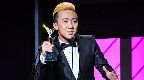 Tran Thanh khong buon du trang tay tai VTV Awards 2016 hinh anh
