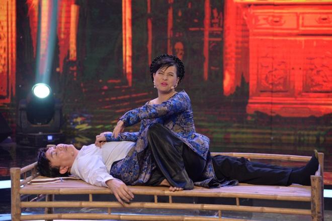 Cat Phuong cuong hon Chi Tai tren truyen hinh hinh anh 1