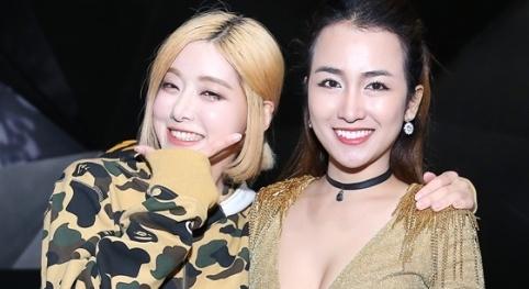 Trang Moon do ve goi cam voi DJ noi tieng Han Quoc hinh anh