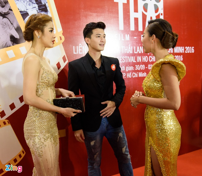 Sao Viet tap nap tren tham do Lien hoan phim Thai Lan hinh anh 10