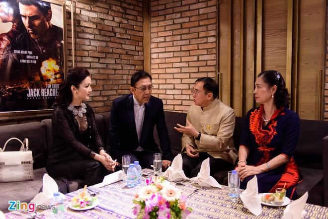 Sao Viet tap nap tren tham do Lien hoan phim Thai Lan hinh anh 14