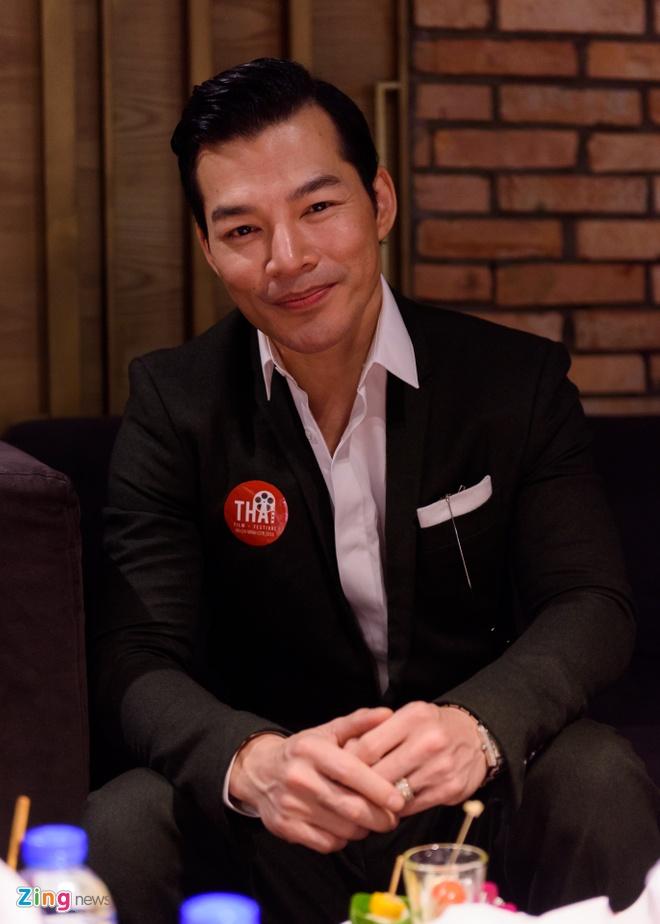Sao Viet tap nap tren tham do Lien hoan phim Thai Lan hinh anh 6