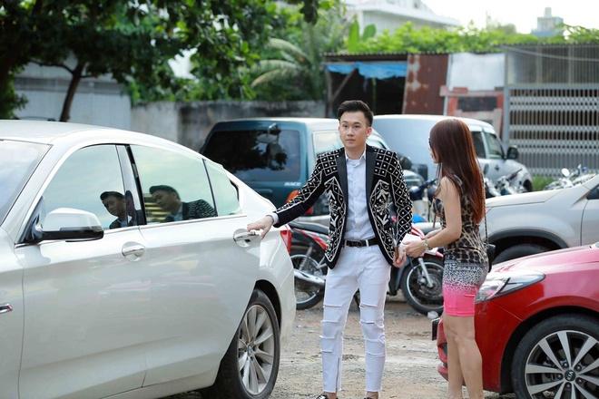 Em gai Hoai Linh co vu Duong Trieu Vu anh 1