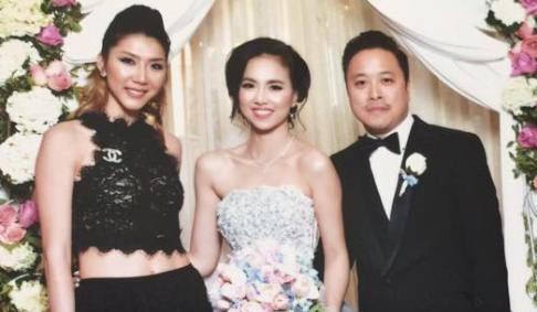 Dinh Ngoc Diep - Victor Vu to chuc dam cuoi o My hinh anh