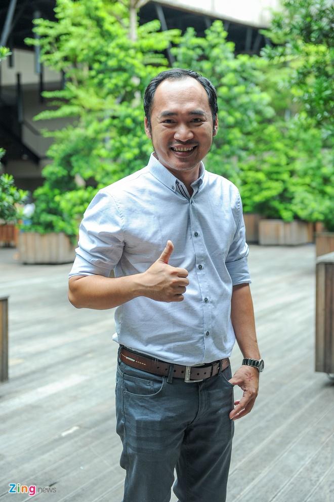 Tran Thanh den chuc mung Truong Giang to chuc live show hinh anh 6