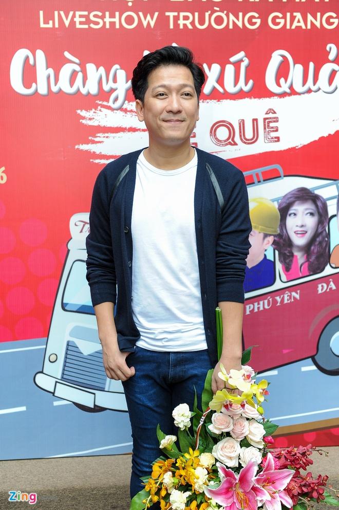 Tran Thanh den chuc mung Truong Giang to chuc live show hinh anh 1