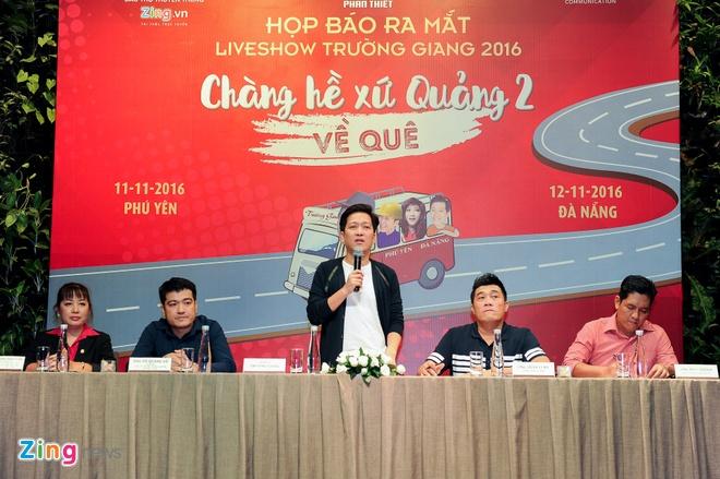 Tran Thanh den chuc mung Truong Giang to chuc live show hinh anh 11