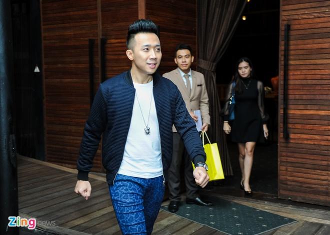 Tran Thanh den chuc mung Truong Giang to chuc live show hinh anh 2