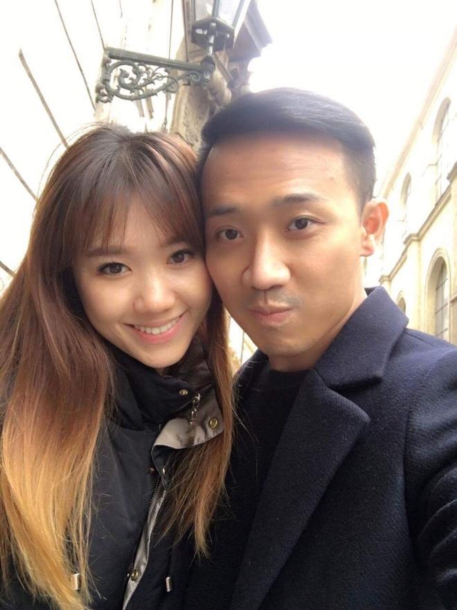 Tran Thanh - Hari Won tinh cam o chau Au hinh anh 1