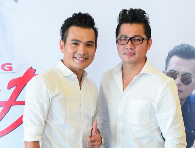 Pham Thanh Thao ve nuoc chuc mung Lam Hung ra mat album hinh anh 7