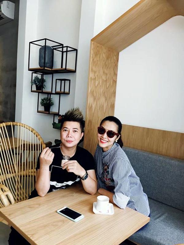 Tang Thanh Ha mang bau lan 2 anh 1