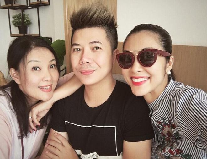 Tang Thanh Ha mang bau lan 2 anh 2