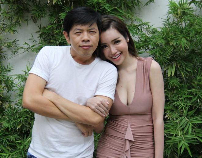 Elly Tran lam con dau 'ho' cua Thai Hoa trong phim hinh anh 1