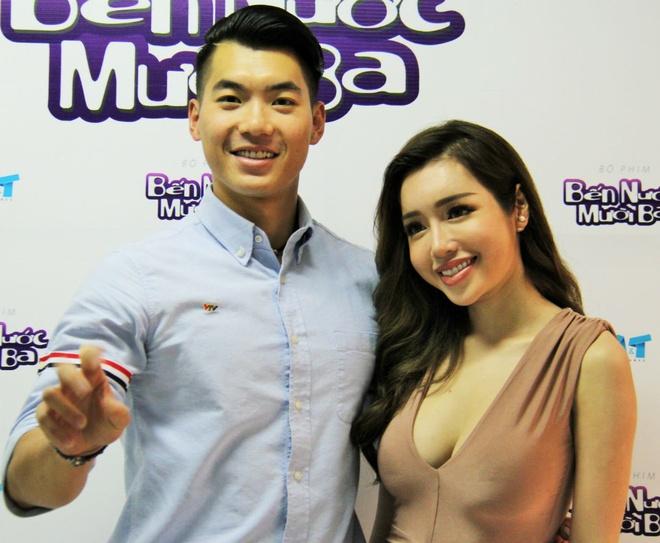 Elly Tran lam con dau 'ho' cua Thai Hoa trong phim hinh anh 2