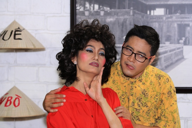 Ai Chau hanh ha Huynh Dong trong phim moi hinh anh 2
